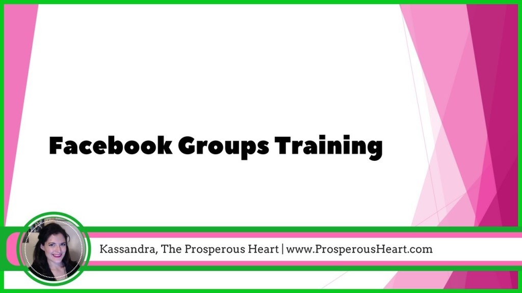 facebook groups tutorial 2017