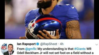 Photo of Odell Beckham Talks Holdout, Giants Talk Trades *UPDATED*