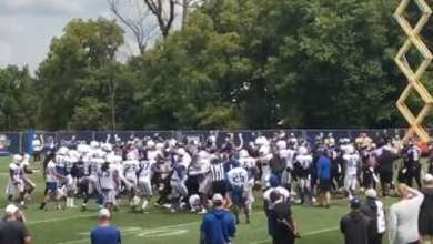 Photo of Fight Breaks Out During Ravens and Colts Joint Practice [Video]