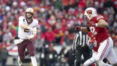 Photo of Previewing the Battle of Paul Bunyan's Axe: Wisconsin at Minnesota
