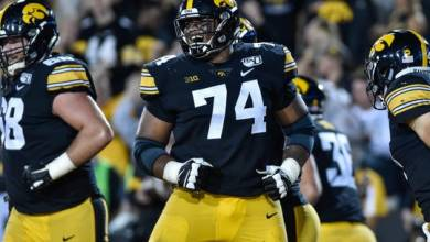 Photo of Tampa Bay Trade Up One Spot, Select Iowa Offensive Lineman Tristan Wirfs