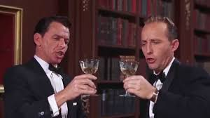 Photo of A Little Bit of the Bubbly: Before Chris Jericho, The Dream Team of Frank and Bing Serenaded Champagne