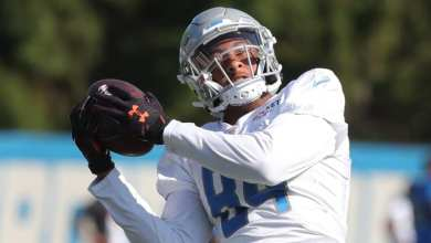 Photo of Eagles Sign Former Lions WR Travis Fulgham To See If He Can Break Darius Slay's Ankles Like The Rest Of The Team