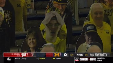 Photo of Michigan's 'Surrender Cobra' Fan Makes TV Appearance in Loss