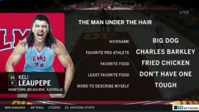 Photo of Meet Keli Leaupepe The Most Electric College Basketball Player In The Nation