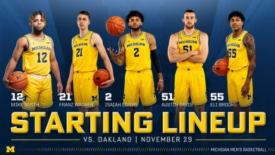 Photo of Michigan Basketball Squeaks Past an Awful Oakland Team