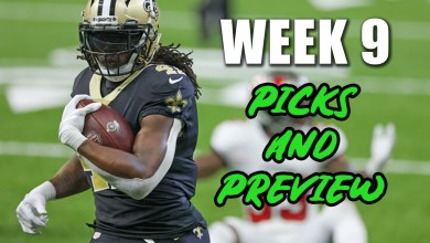 Photo of Week 9 NFL Picks and Preview
