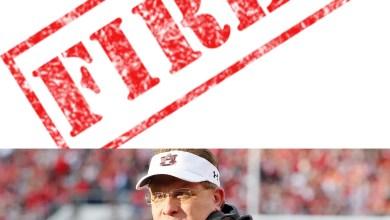 Photo of Gus Malzahn Fired As Auburns Head Football Coach
