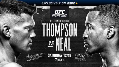 Photo of UFC Fight Night: Thompson vs. Neal LIVE STREAM (12/19/20) | How to watch UFC online | Fight card, time, TV, channel