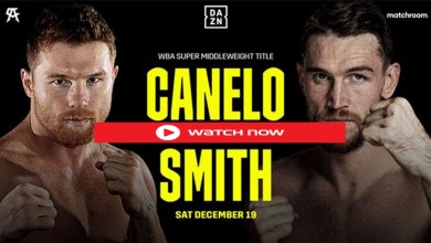 Photo of Watch Boxing FREE : Canelo vs Smith Live Streams Free Full Fight