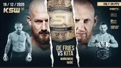 Photo of KSW 57: Phil De Fries vs Michal Kita – Official PPV Live