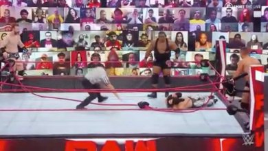 Photo of MUST SEE VIDEO: Keith Lee BREAKS THE RING On WWE Raw