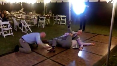 Photo of WATCH: Epic Stone Cold Stunner At A Wedding On The Dance Floor!