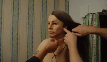 Gillian Wearing in prosthetic make up