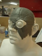 Mad-Eye Moody sculpt