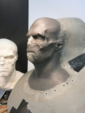 Red Skull sculpt