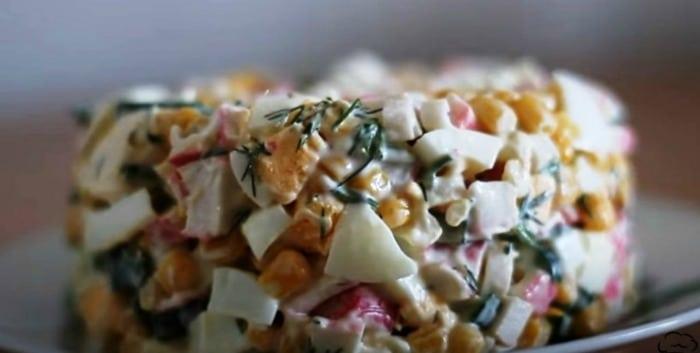 Три швидких і смачних салати з кукурудзою