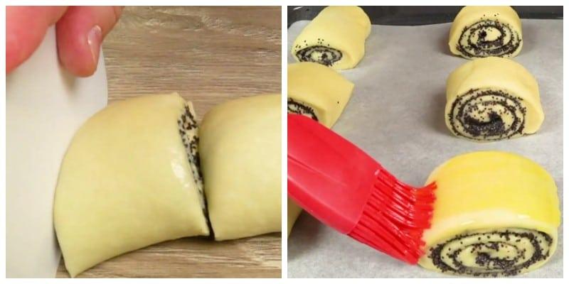 Макові булочки. Простий рецепт домашньої випічки