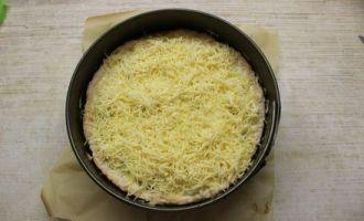 Пиріг з куркою і грибами