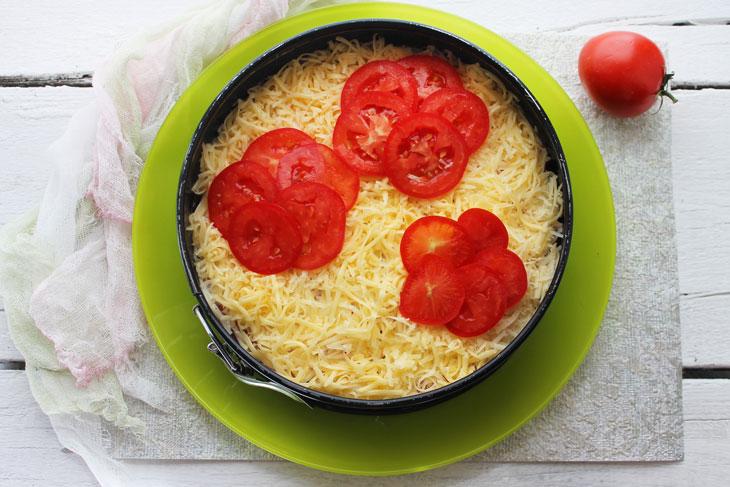 Салат «Червоні маки» – дивно красивий і дуже смачний