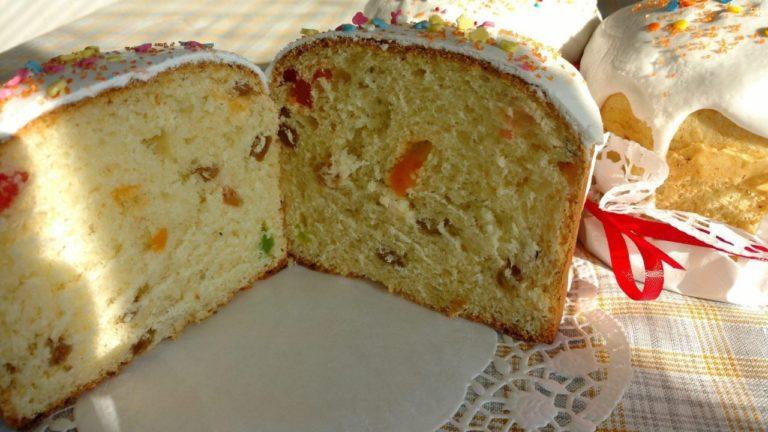 Рецепт паски з бездріжджового тіста