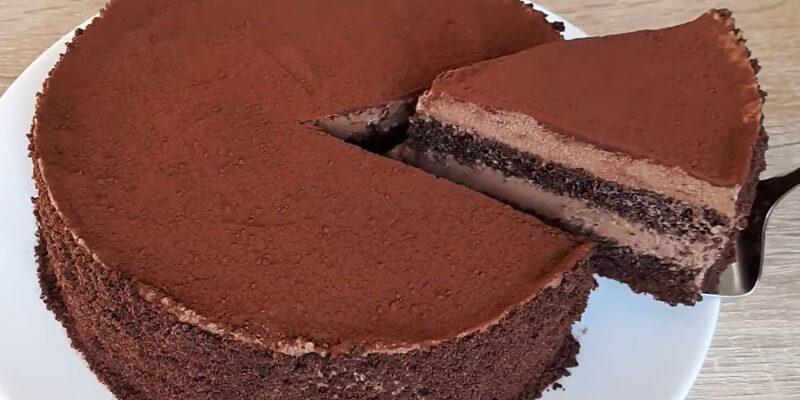 Торт Трюфельний: смачний і ніжний