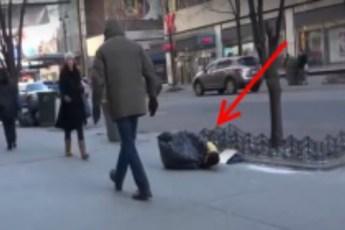 Полураздетый мальчик замерзал на улице при –15 °C. Просто чудо, КТО ему пришел на помощь!