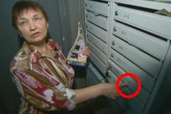 Если ты увидишь на своих дверях ЭТИ знаки, немедленно стирай их и звони в полицию!