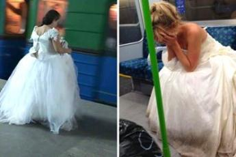 Узнав об измене, невеста сбежала из-под венца и очутилась в метро. В вагоне к ней подошел парень...