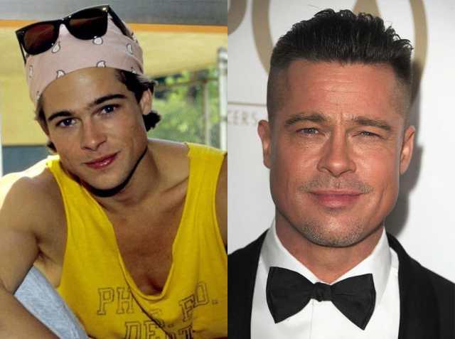 Как с годами изменились любимые актеры Голливуда