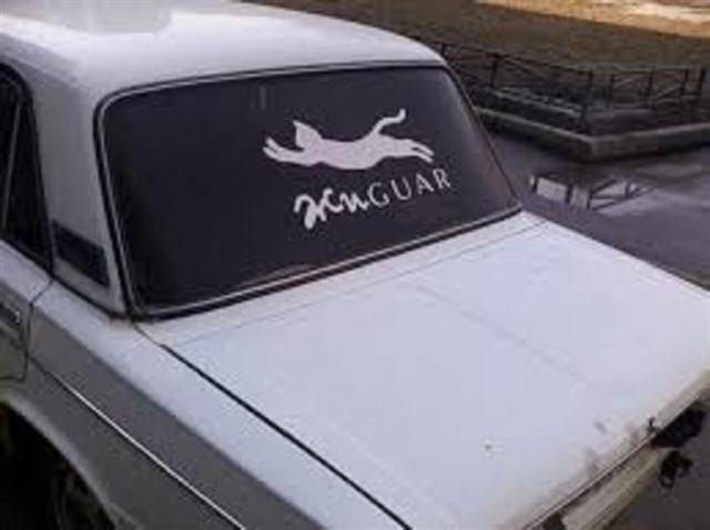 11 невероятно смешных надписей на автомобилях
