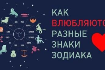 Амурный гороскоп: Вот как влюбляются разные знаки зодиака