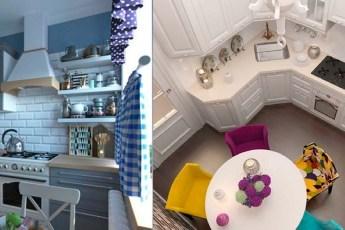 Варианты ремонта и меблировки маленьких кухонь в хрущевках