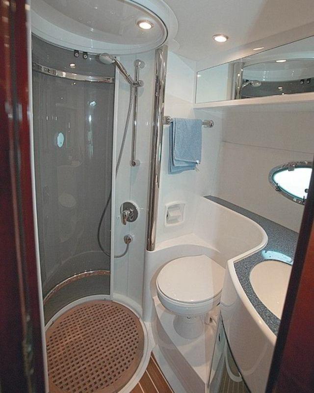 Интересные идеи дизайна маленькой ванной комнаты