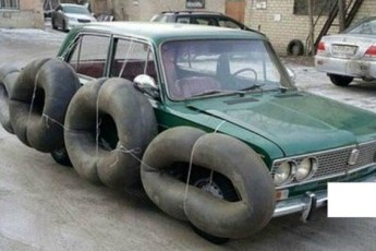 Забавные и странные машины, которые можно встретить на улицах