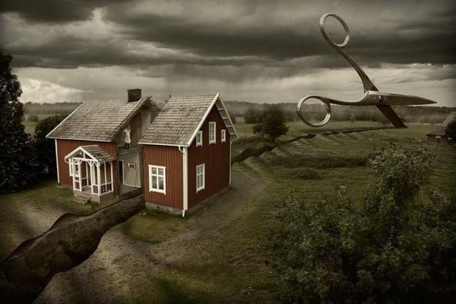 Невероятные сюжеты и удивительные миры: фотоманипуляции Эрика Йоханссона