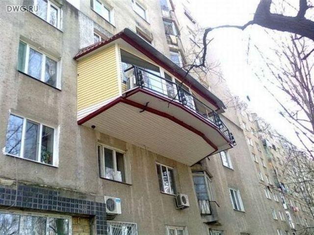 Невероятные балконы, жутко раздражающие соседей