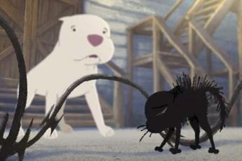 Студия Pixar показала мультик о дружбе бездомного котёнка с питбулем, над которым не стыдно плакать