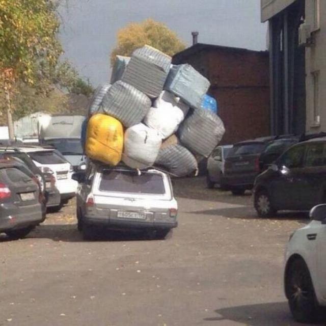 Вот что выходит, когда хочешь сэкономить на перевозках