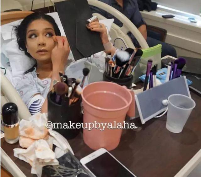 Девушки делают макияж прямо перед родами, но не все их поддерживают