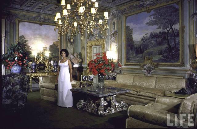 Софи Лорен- 85. Редкие фотографии молодой кинодивы на шикарной вилле
