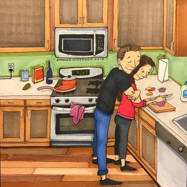 Вот как выглядит любовь, пока ее никто не видит