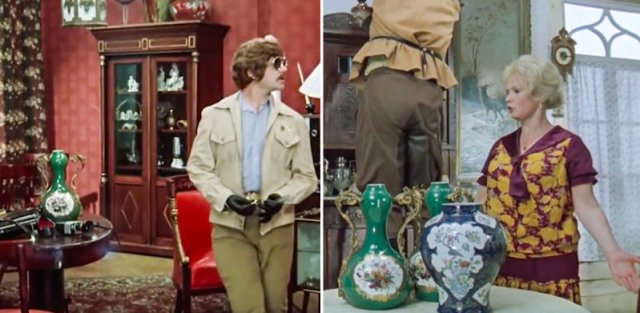 Платья и реквизит, которые можно увидеть сразу в нескольких советских фильмах