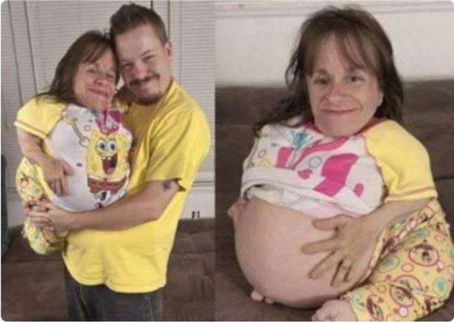 Женщина ростом всего 71см смогла стать мамой и родила троих детей. Как выглядят её дети