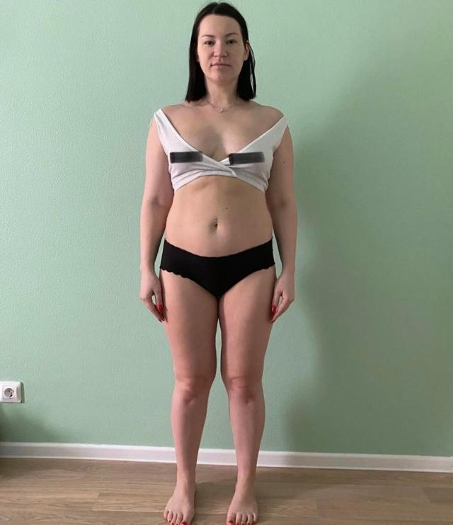Не смотрела даже в зеркало. Ида Галич показала себя с набранными 25 килограммами