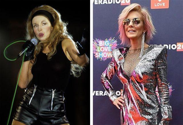 Изменившиеся лица за тридцать лет. Кого из звезд 90-х больше не узнать на фото