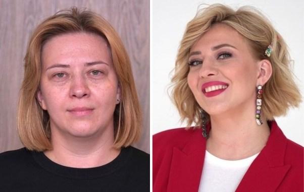 Женщины, которых преобразили до неузнаваемости за счет макияжа и прически
