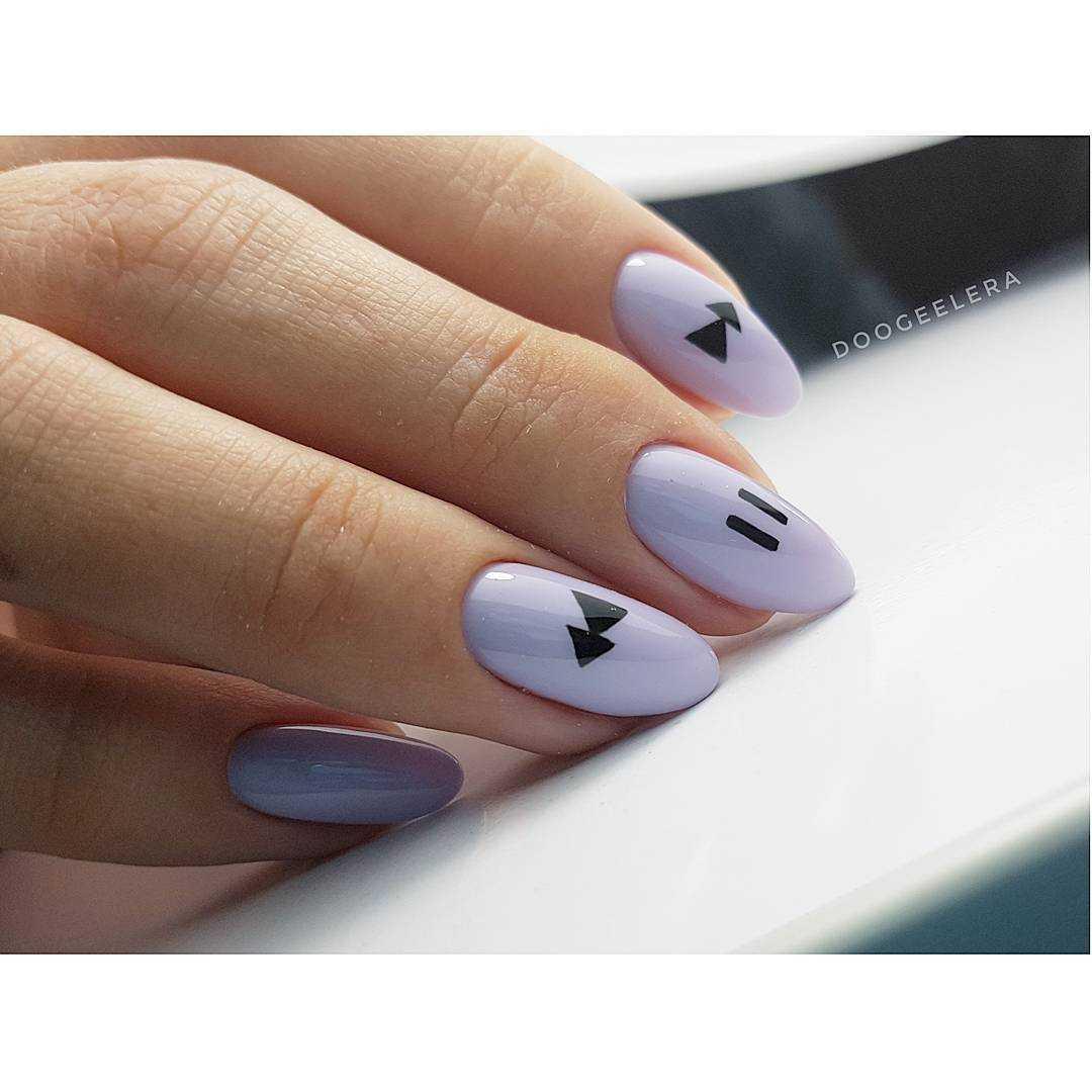 ногти простой дизайн 2