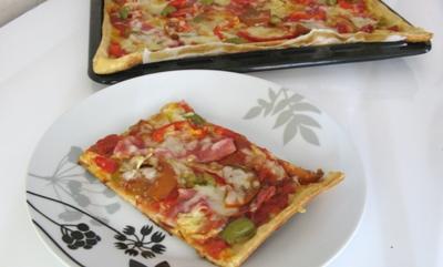 Быстрая пицца в духовке: рецепт пошагово с фото