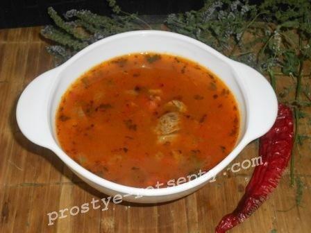 Как приготовить суп харчо из говядины: рецепт с фото пошагово